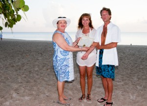 A Romantic Sunset Cayman Wedding at Governor's Beach - image 2