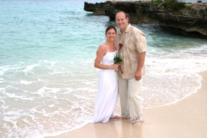 cruise wedding at Smith's Cove