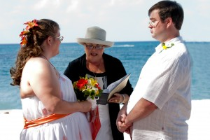 Custom Ceremony for this Cayman Beach Wedding - image 1