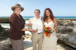 The other side of a Smith's Cove, Grand Cayman wedding shoot - image 1