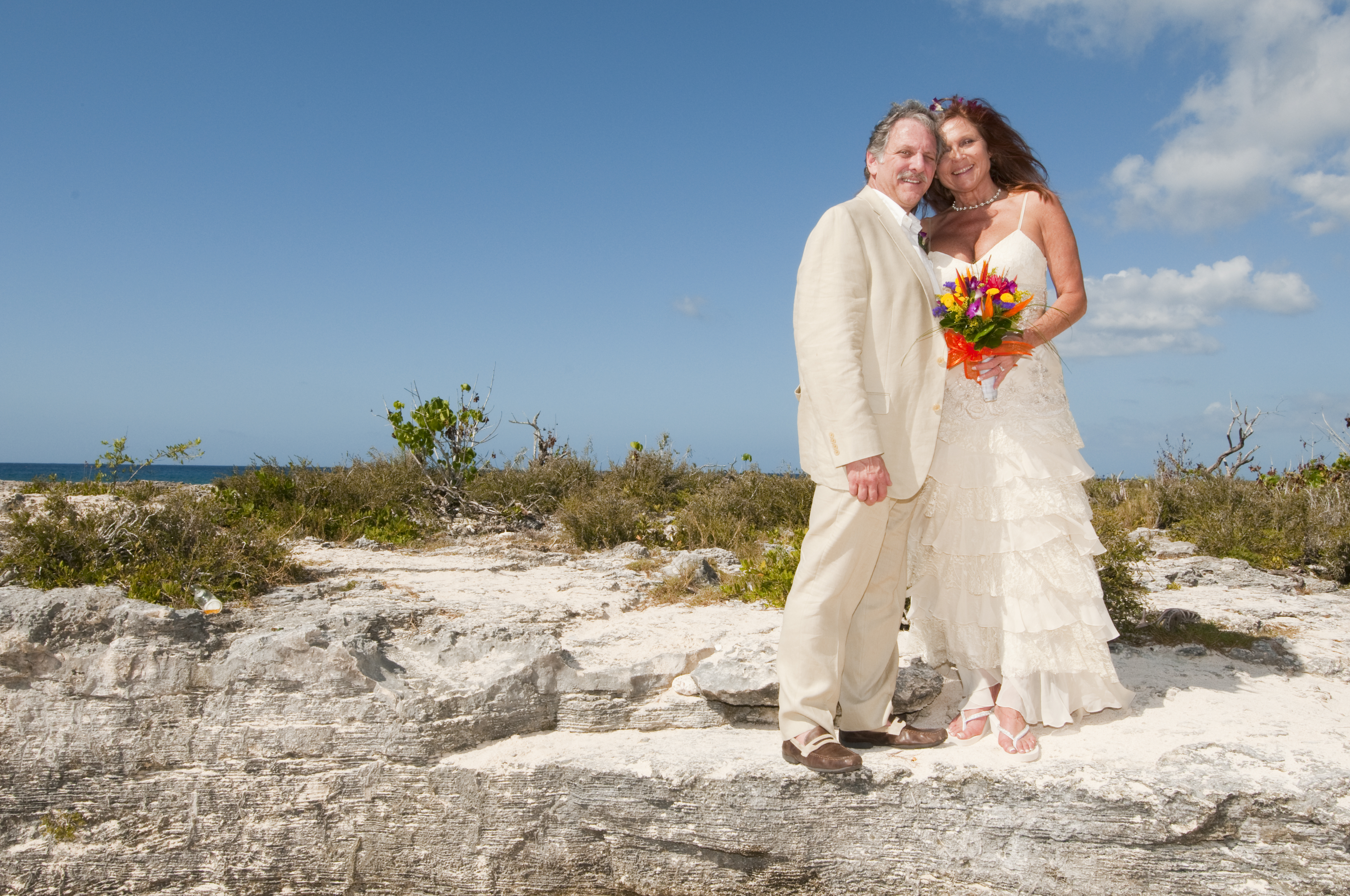 The other side of a Smith\'s Cove, Grand Cayman wedding shoot ...