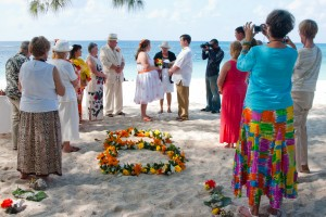 Custom Ceremony for this Cayman Beach Wedding - image 4