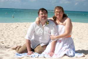 Custom Ceremony for this Cayman Beach Wedding - image 7
