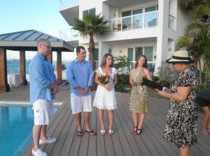 Balmy Evening for this George Town Harbour wedding - image 3