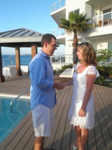 Balmy Evening for this George Town Harbour wedding - image 4