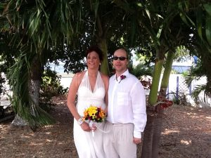 How I use my Ipad 2 in your Cayman Islands beach wedding - image 5