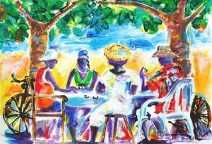 Original Paintings of Your Cayman Wedding from artist John Broad and Simply Weddings - image 3