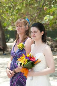 Beautiful Wedding Day in Grand Cayman for Virginia pair and family - image 1
