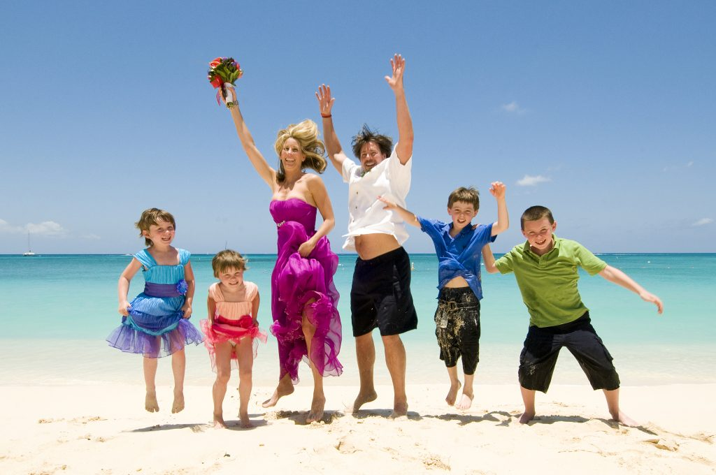 Extra Special Beach Wedding for Colorado Couple + 4 kids - image 4