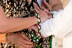 Irish Hand-fasting and Anam Cara Ceremony at Cayman Sunset Beach Wedding - image 3