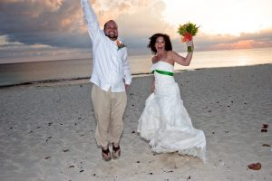Irish Hand-fasting and Anam Cara Ceremony at Cayman Sunset Beach Wedding - image 5