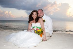 Irish Hand-fasting and Anam Cara Ceremony at Cayman Sunset Beach Wedding - image 6