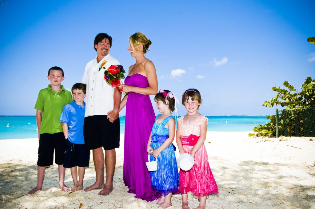 Extra Special Beach Wedding for Colorado Couple + 4 kids - image 1