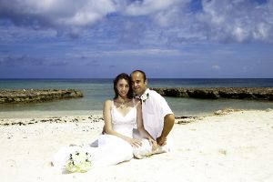 Grand View for this British Couple's Cayman Beach Wedding - image 1