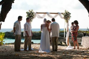This Irish Bride Was Smiling at Her Grand Cayman Beach Wedding - image 2