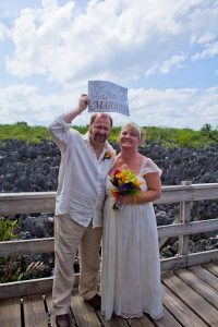 Lucky Wedding Day in Hell for Rice Lake, WI Couple - image 1