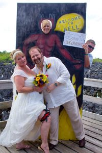 Lucky Wedding Day in Hell for Rice Lake, WI Couple - image 4