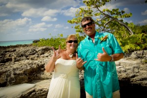 North Carolina Couple Are Lucky in Love at Smith's Cove, Grand Cayman