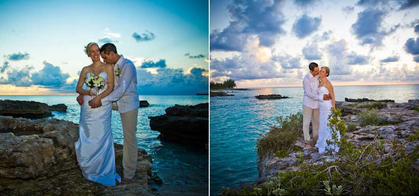Canada-Cayman Connection for this Sunset Beach Wedding - image 2