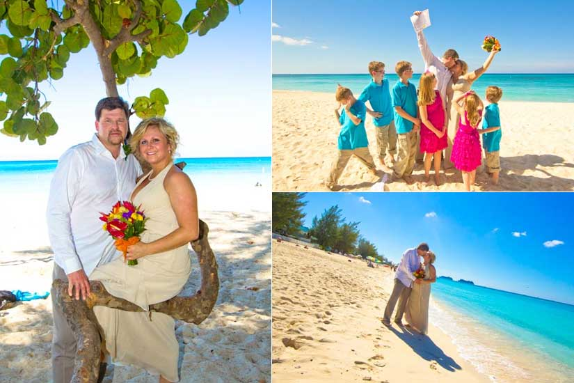 Governor's Beach was the right spot for this Michigan couple and family