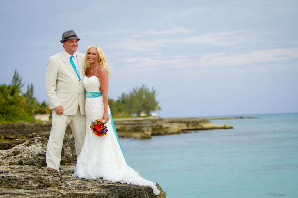 grand cayman wedding vow renewal with joy basdeo and