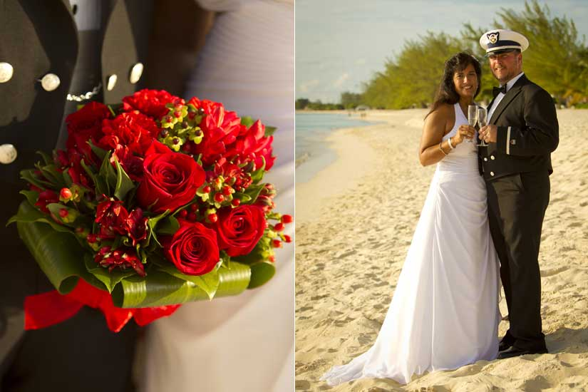 Governor's Beach , Grand Cayman, such a simple wedding location - image 2
