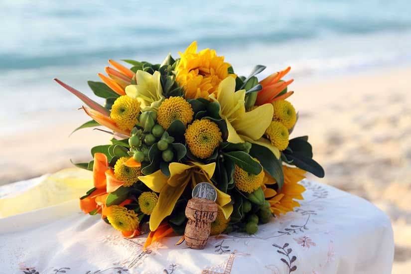 Taking the plunge and other Caymanian wedding traditions